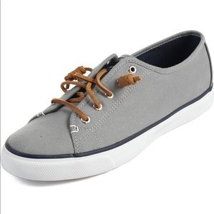 Sperry Topsider Gray Tennis Shoes